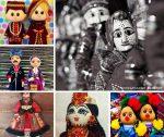 Куклы ручной работы в национальных нарядах