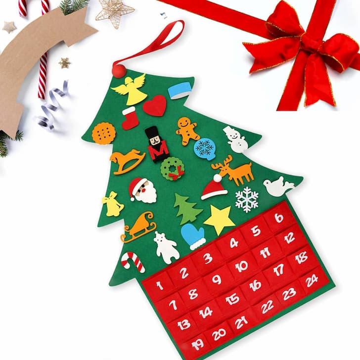 рождественский календарь ёлка