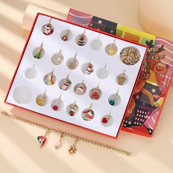 набор украшений для рождественского календаря