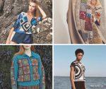 Современные идеи моделей одежды из бабушкиного квадрата + схемы мотивов